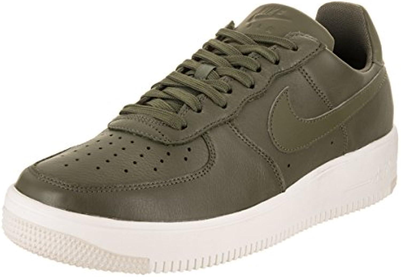 NIKE Men's Air Force 1 Ultraforce Leather Medium/Olive/Medium/Olive Basketball Shoe 8 Men US