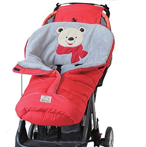 (Unbekannt PER Baby Warmer Kinderwagen Bunting Tasche mit Reißverschluss wasserdicht und Winddicht Schlafsack Fußsack für Winter Herbst)