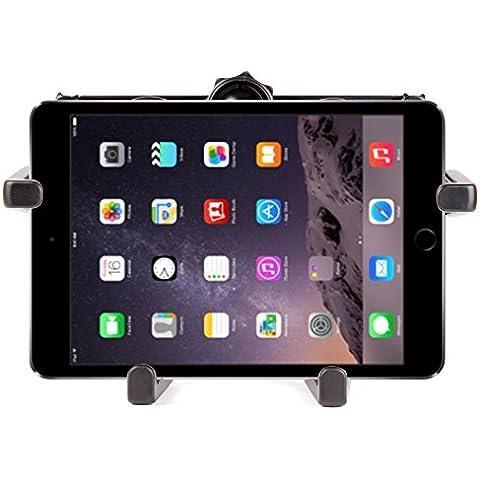 DURAGADGET Soporte Reposacabezas De Coche Para Apple iPad Air 2 ( Wi-Fi, Wi-Fi + Cellular ) - De 4 Brazos - ¡Facil