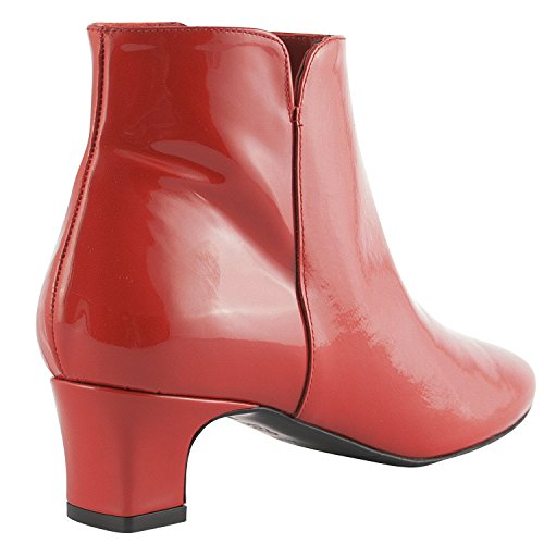 Exclusif Paris  Exclusif Paris Bridget, Chaussures femme Bottines femme,  Damen Stiefel & Stiefeletten Rot - rot