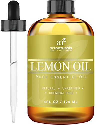Price comparison product image ArtNaturals Therapeutic-Grade Lemon Essential Oil - 100% Pure and Natural Set Includes Our Aromatherapy Signature Zen and Chi Blends – 118 ml.