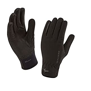SEALSKINZ 100 Percent Waterproof Mens Glove - Windproof and Breathable - Suitable for All Activities in All Weather Conditions-Large