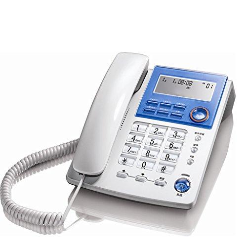 Schnurgebundenes örtlich festgelegtes Telefon mit Freisprechtelefon-Anrufer-Identifikation / Anruf-Speicher-leuchtendem großem Schirm-großem Knopf-Quadrat für - Kunden-id-nummer