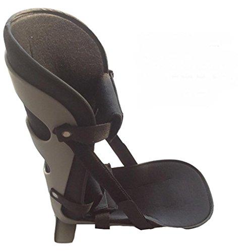 G&M Knöchel-Fuß-Orthese-Drop Fuß Orthese Knöchelbandage gemeinsame Fixierung , gray , l