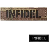1x3.5 Multicam Infrared Name Tape Tab Callsign IFF Morale Hook-and-Loop Patch