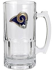 Great American Products St. Rams NFL 1 tasse de Macho Liter Louis - Primary Logo