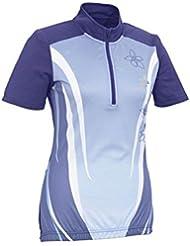 Mujer Camiseta bicicleta T Camiseta TopCool® Función de fibra púrpura M 40/42