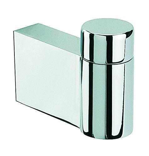 Baño Diseño Key - Percha, inoxidable, color cromo brillante