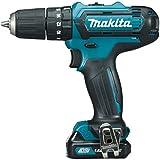 Makita HP331DZ - Taladro (Taladro de pistola, perforacion, Taladro a percusión, Desatornillar, Negro, Azul, 2,1 cm, 1 cm, 30 Nm)