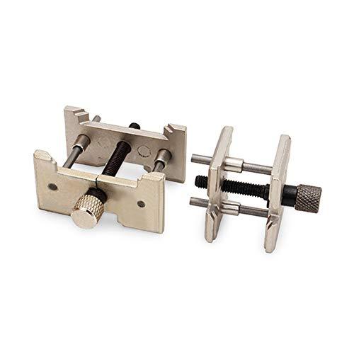 2 stücke Tragbare Mini Schraubstock Tisch Craft Schmuck Clamp Vise Uhr Repair Tool mit Verstellbaren Kiefer -