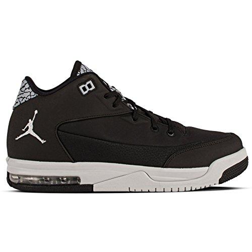 Nike Jordan Flight Origin 3 Bg, Scarpe da Basket Bambino, Nero (Black (Argento-Nero Puro / Metallico di Platino)), 36 EU