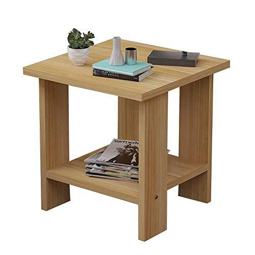 CZZ Moderner Minimalistischer Kleiner Apartment-Couchtisch, Quadratischer Tisch, Geeignet Für Wohnzimmer Sofa Seite Schlafzimmer, 3 Größen,A,30 * 30 * 32 cm -