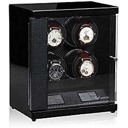 Luxwinder Flint LV2 Uhrenbewger für 4 Automatikuhren powered by Modalo carbon 6204882