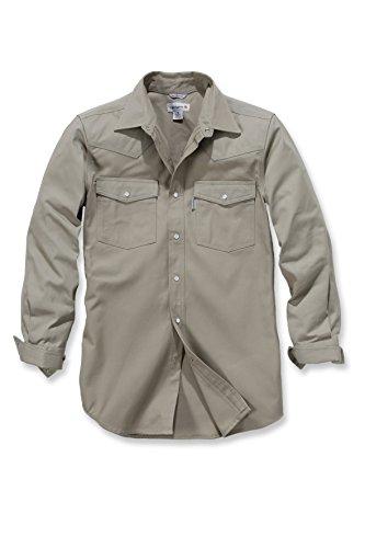 Carhartt Ironwood Twill Work Shirt - Arbeitshemd Herren - S209 -