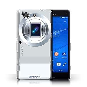 Kobalt® Imprimé Etui / Coque pour Sony Xperia Z3 Compact / Compact conception / Série Appareil Photo