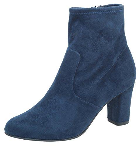 Caprice Damen 9-9-25300-21 870 Stiefeletten, Blau (Ocean Stretch 870), 38.5 EU