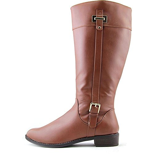 Karen Scott Deliee Synthétique Botte Cognac