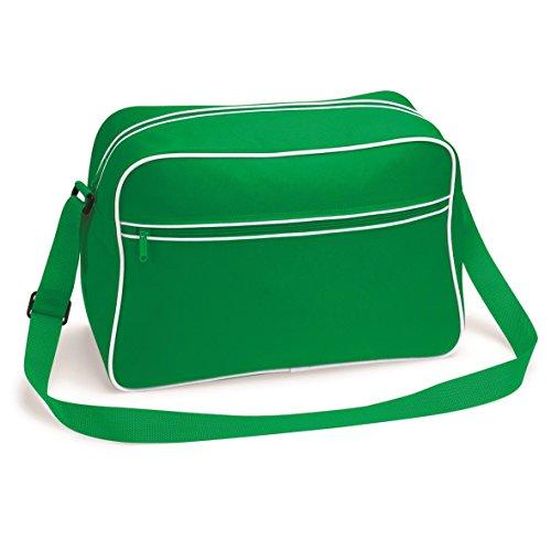 Große Retro Schultertasche von BagBase - 15 Farben verfügbar Verde Vista A La Venta Precio Más Barato El Precio Barato hgqx2