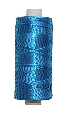 Main Clé Effet Soie Fil à broder fil Viscose 16,7x 2x 3250m kalifornienblau (3230)