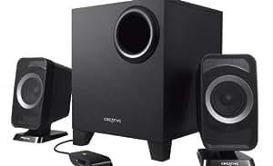 Creative T3150W 2.1 Bluetooth Lautsprechersystem schwarz