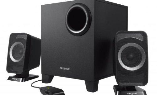 Creative T3150 - Altavoces 2.1, inalámbricos, color negro
