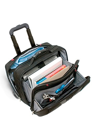 "Wenger Granada 17"" eleganter Business Wheeled Trolley für Notebooks schwarz Schwarz"