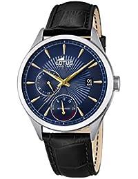 Lotus Watches Reloj Multiesfera para Hombre de Cuarzo con Correa en Cuero  18577 5 7caedbf679b7