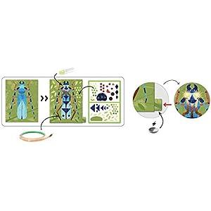 Djeco Imágenes para iluminar Insectarium (39315), Multicolor (1)