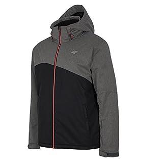 4F Men's Herren Skijacke AQUATECH Jacket, Black, L