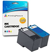 SET of 2 Remanufactured Printer Ink Cartridges for Dell All-In-One 926 Photo V305 V305W / Dell Series 9 / MK990, MK991, MK992, MK993