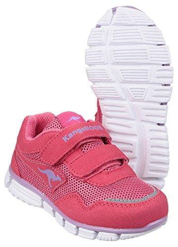 Lasic Kids dei canguri Sport Sneakers Rosa / viola