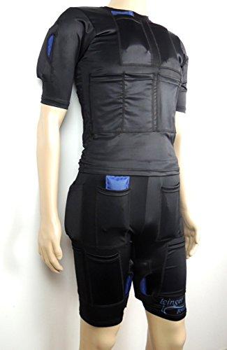 Icinger Power Kühlender Anzug zur Fett-Verbrennung durch Kälte - Eis-Packs inbegriffen - Size Shorts & TShirt M - XL