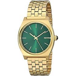 Nixon Reloj Analógico de Cuarzo para Hombre con Correa de Acero Inoxidable – A0451919-00