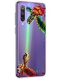 Oihxse Funda para Xiaomi Redmi S2/Y2 Transparente, Estuche con Xiaomi Redmi S2/Y2 Ultra-Delgado Silicona TPU Suave Protectora Carcasa Océano Animal Serie Bumper (C9)