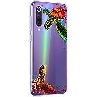Oihxse Funda para Xiaomi Redmi 5 Transparente, Estuche con Xiaomi Redmi 5 Ultra-Delgado Silicona TPU Suave Protectora Carcasa Océano Animal Serie Bumper (C9)