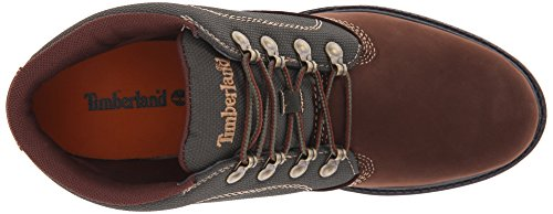 Timberland Mens 6-Inch Campsite Leather Boots Brown