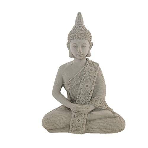 Bouddha Imitation Ciment 10.5X5.5X15CM
