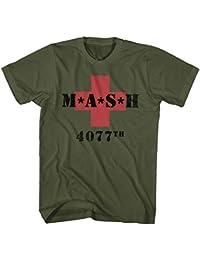 MASH 4077th M*A*S*H Vintage grün T-Shirt