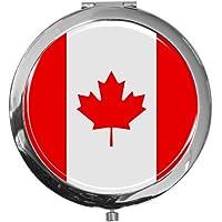 """metALUm - Extragroße Pillendose in runder Form""""Flagge Kanada"""" preisvergleich bei billige-tabletten.eu"""