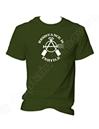 Resistance is Fertile Anarchist Gardener T Shirt