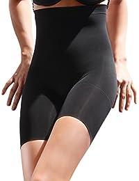 25671f3691 SENSI  Thigh Slimmers Women s Firm Control High Waist with Bra Hook Microfibre  Seamless Sensì Made