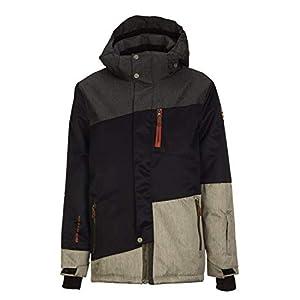 Killtec Jungen Barho Jr Skijacke / Funktionsjacke mit abzippbarer Kapuze und Schneefang