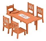 Epoch Sylvanian Families Sylvanian Family Furniture Dining Table Set Ka-412