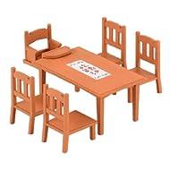 Epoch Sylvanian Families Sylvanian Family furniture Dining Table Set Ka-412 (japan import)