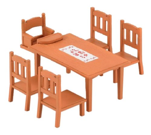 epoch-sylvanian-families-sylvanian-family-furniture-dining-table-set-ka-412-japan-import