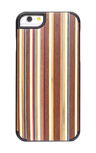 "SunSmart Apple iPhone 6 Plus Holz Hülle Klassische hölzerne Abdeckung iPhone 6 Natural Wood Schutzhülle für iPhone 6 Plus 5.5""-39 35"