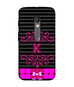 Fuson Designer Back Case Cover for Motorola Moto X Play (Pinkish Girls College Student Office Employee)