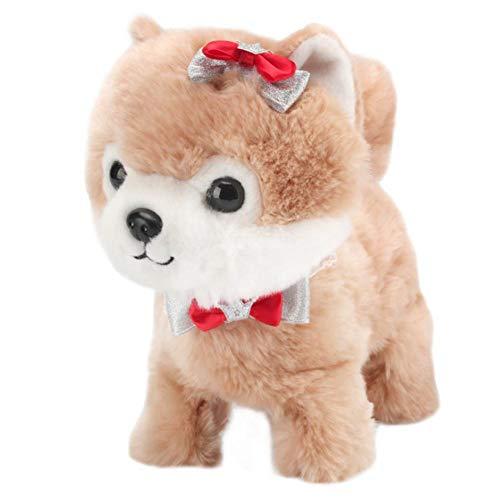 humflour Elektronischer Hund, Plüsch Interaktives Spielzeug Mit Sprechender Wiederholung Mit Fernbedienung Leine, Geschenk Spielzeug Für Kinder