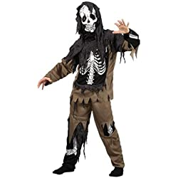 Rotten Skeleton Zombie - Kids Costume 5 - 7 years