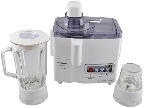 Panasonic Mj-m176p 3-in-1 Juicer/blender/grinder Machine, 220 To 240-volt